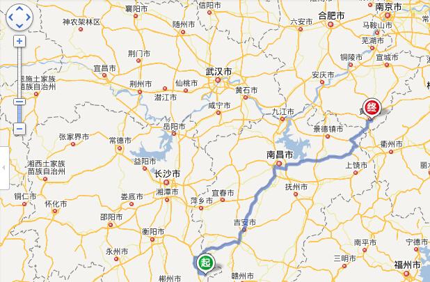 桂东到黄山旅游路线