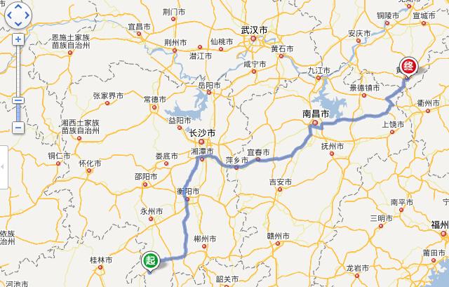 江华到黄山旅游路线