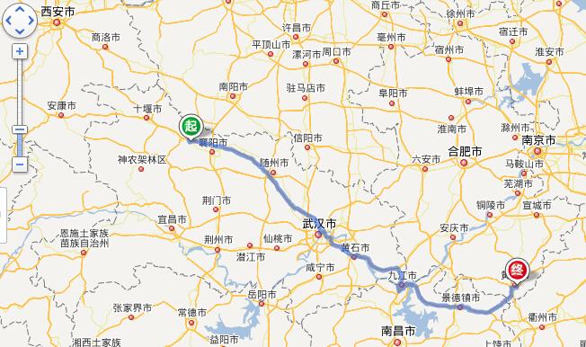 谷城卫星高清地图