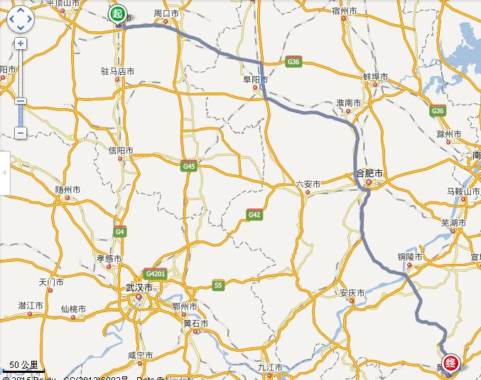 漯河到黄山旅游路线