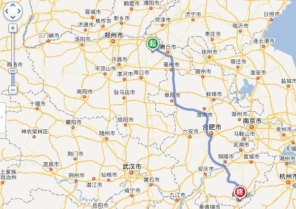 睢县到黄山旅游路线