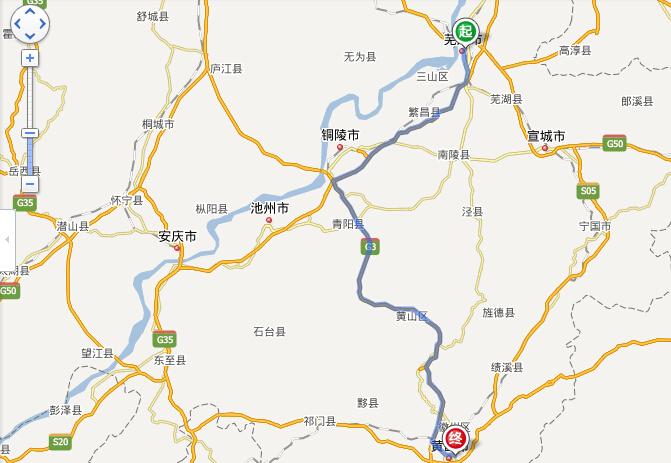 芜湖到黄山旅游路线