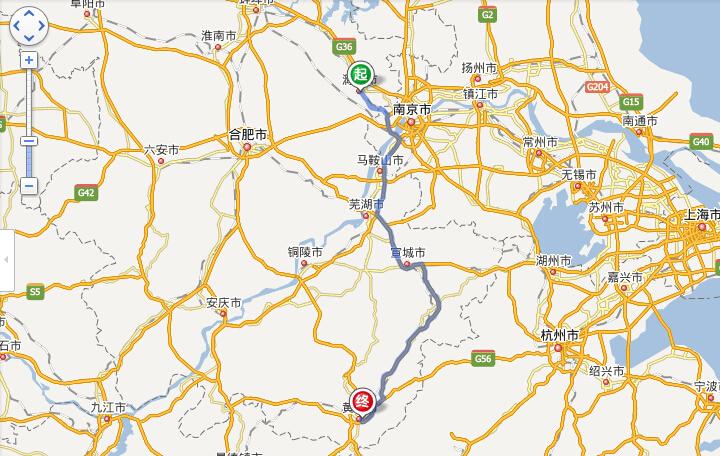 滁州到黄山旅游路线