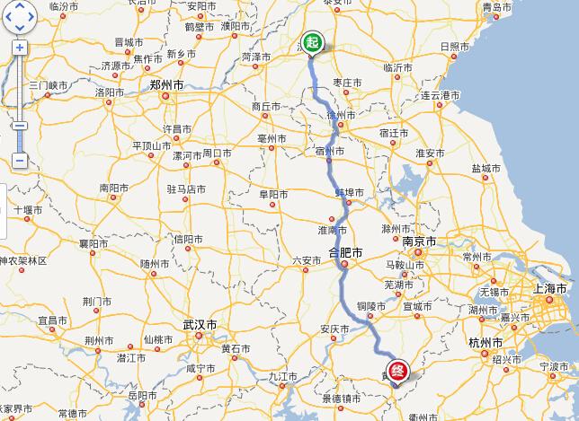郑州到芜湖沿途风景区